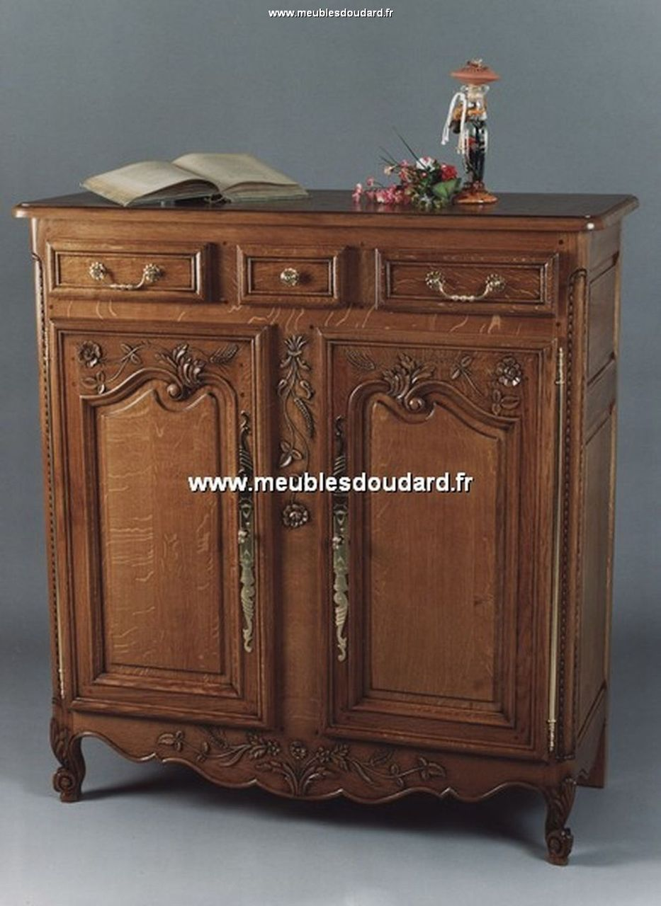 meuble d appui 3 4 normand ref rouen chene