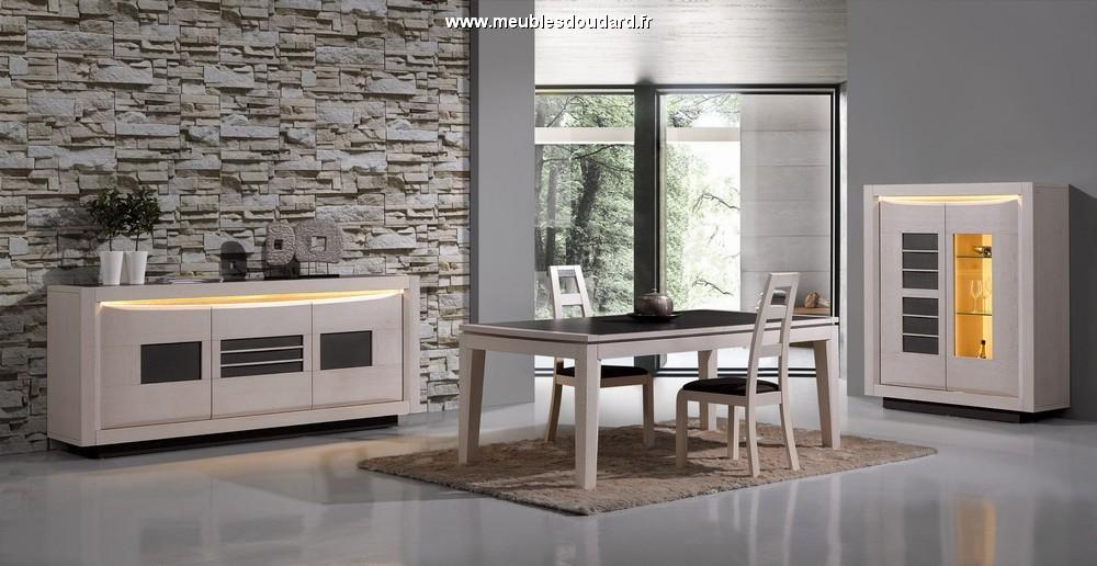 salle a manger moderne en bois blanchi et ceramique sophia