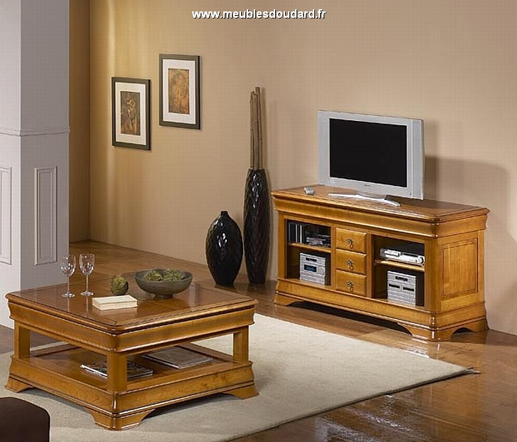 meuble tv louis philippe passion