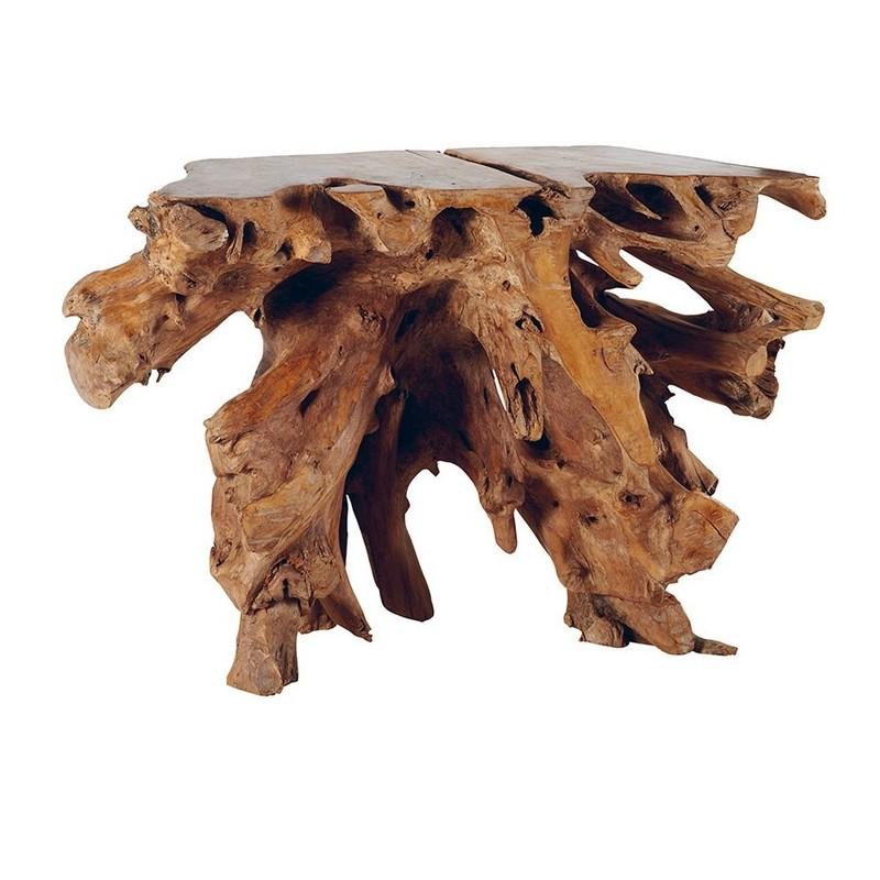 Console Racine De Teck Roots Casita