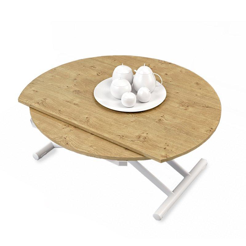 table relevable ronde lyon meubles et