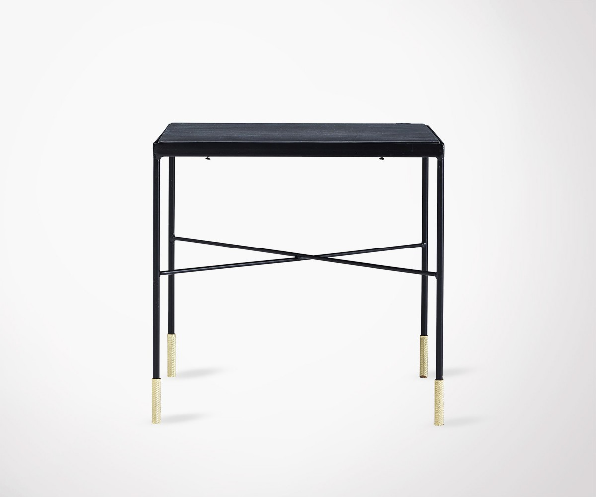 Table Basse Design Mtal Pied Dors House Doctor