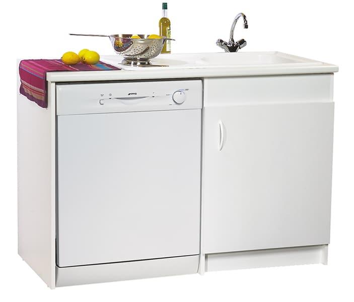 meuble sous evier lave vaisselle