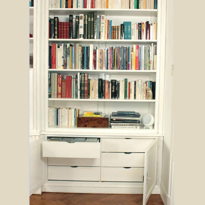 meuble biblioth que sur mesure l 39 atelier du moulin de