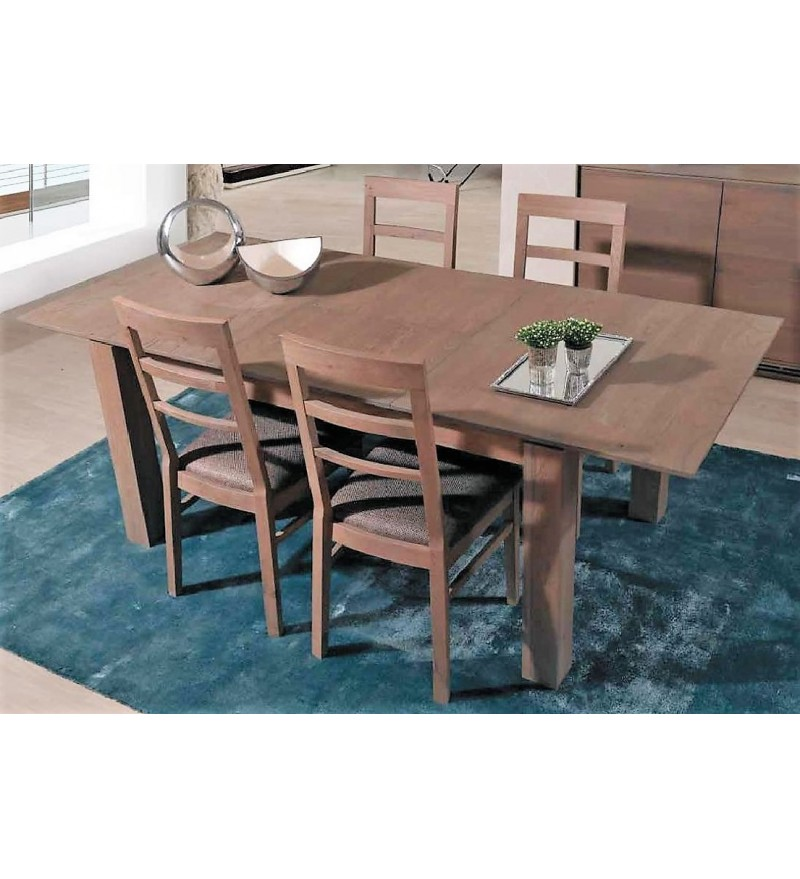 table salle a manger chaises couleur taupe