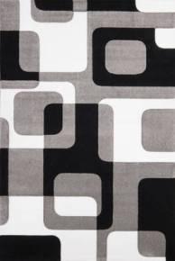 tapis cube gris