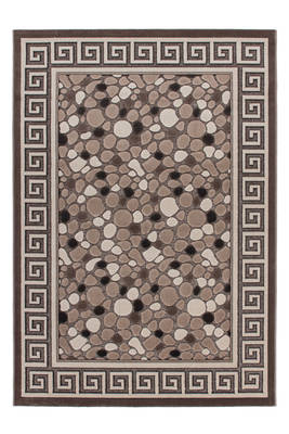 tapis galets beige