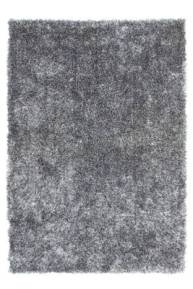 Tapis gris fluffy