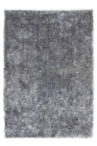 Tapis gris fluffy