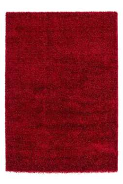 tapis rose fluffy
