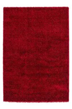 tapis rose fluffy