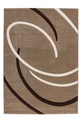 tapis soucoupe beige