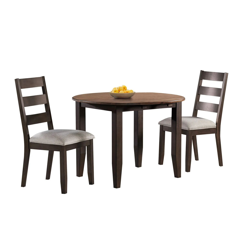table ronde avec 2 chaises