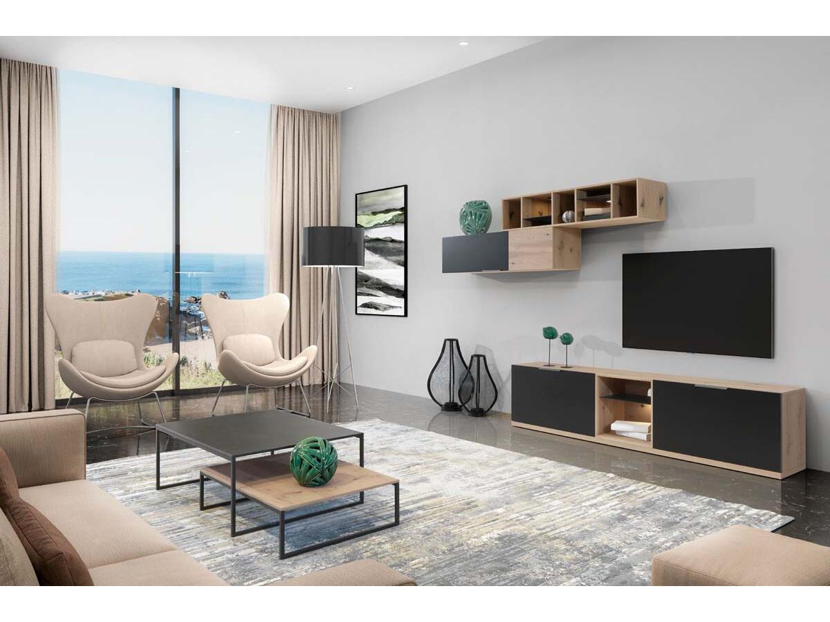 1 modulable meuble tv a esmans
