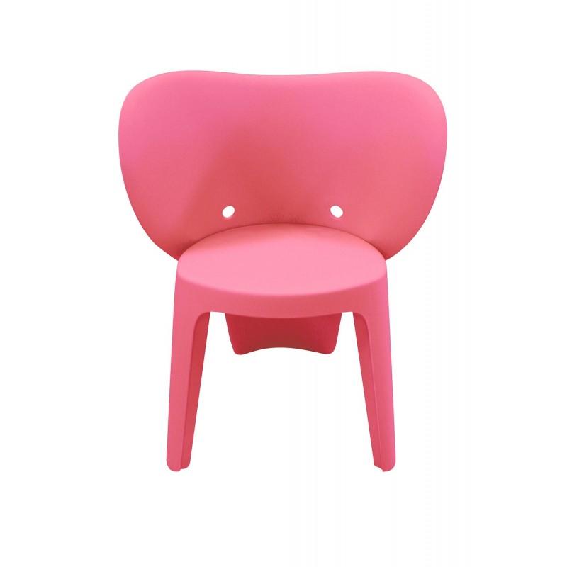 chaise enfant rose elephanto rose
