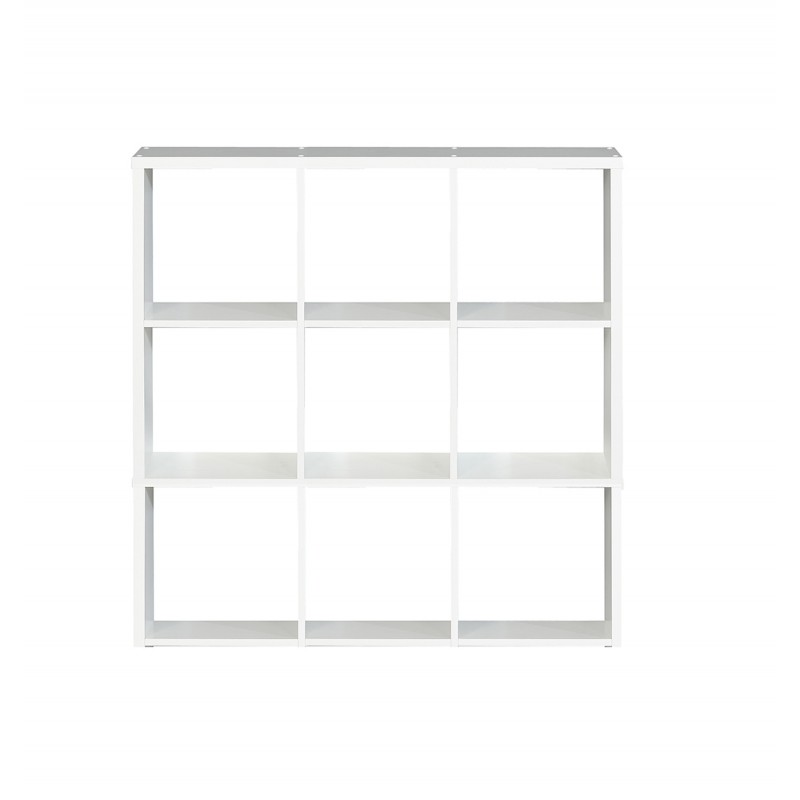 etagere cube 9 casiers decor blanc classico