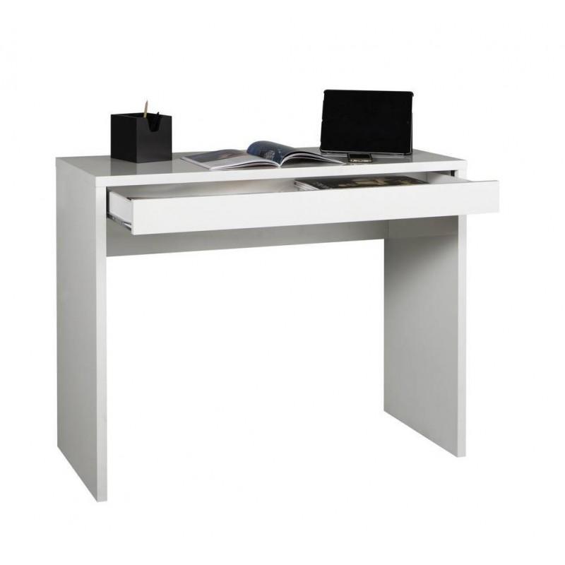 console bureau avec tiroir 100 cm zac