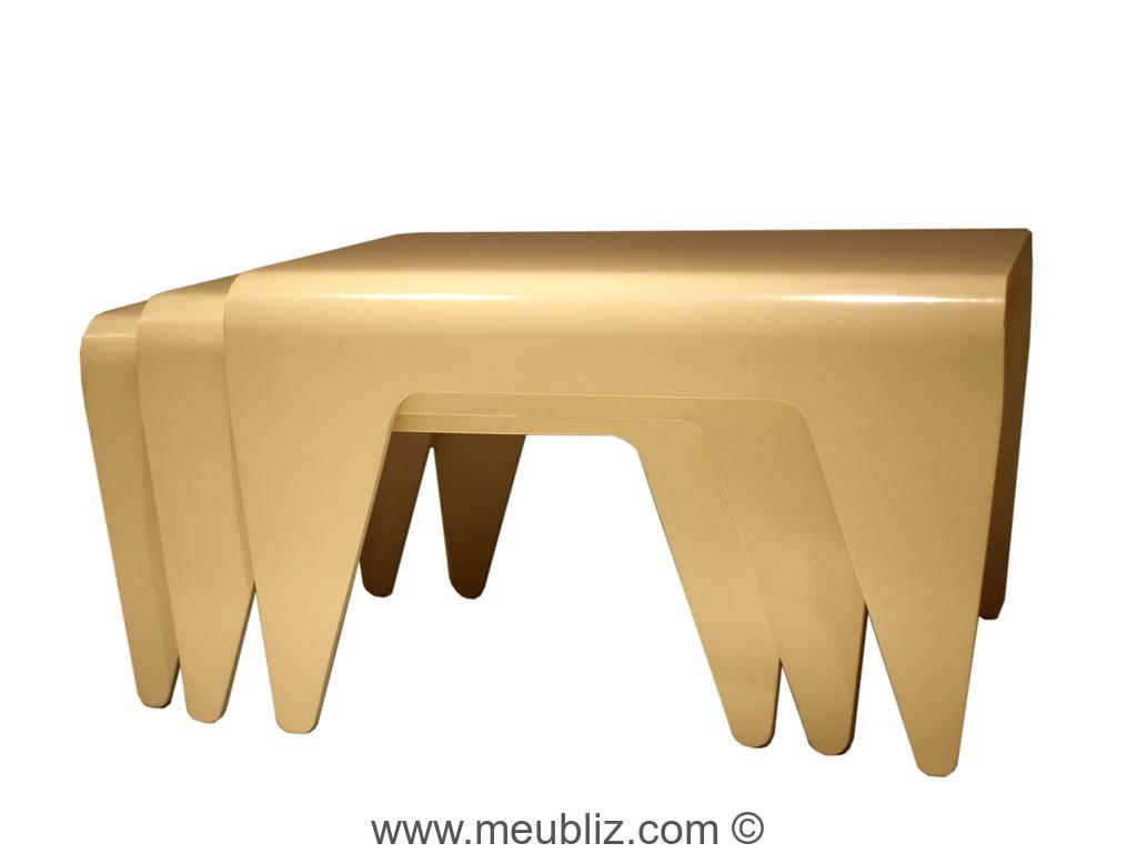 table basse empilable bt2 de marcel