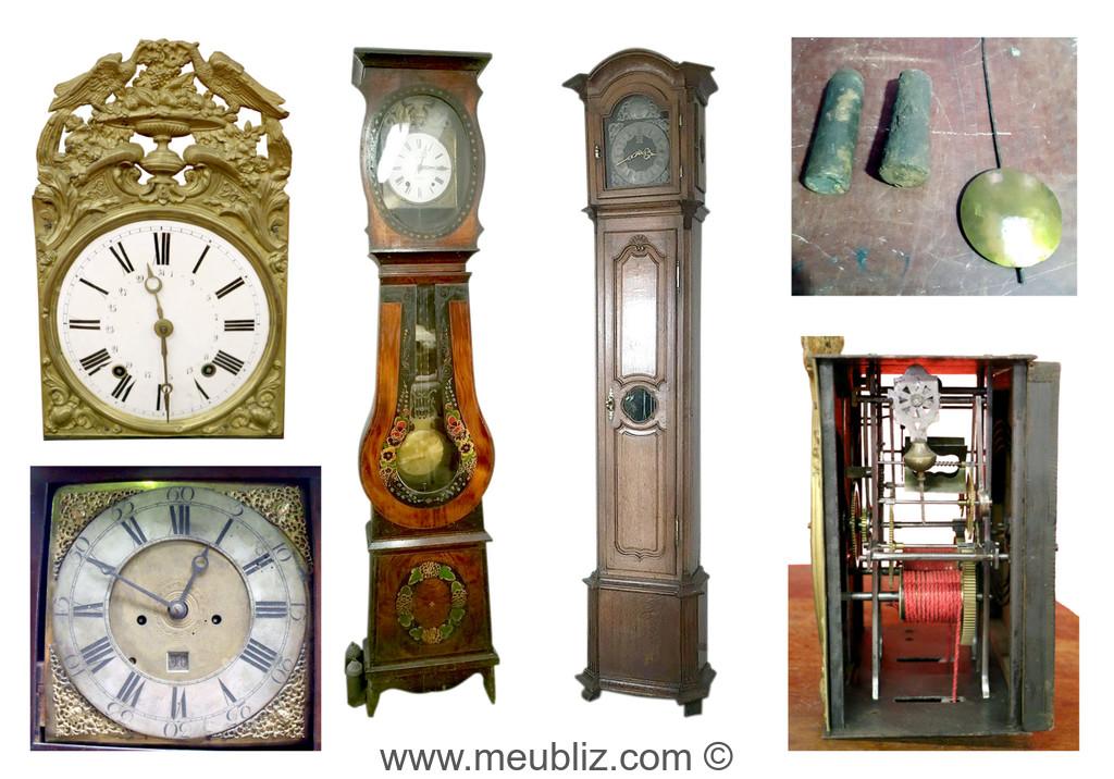L Horloge De Parquet Identifiez Facilement La Caisse Le Cadran Et Le Mouvement