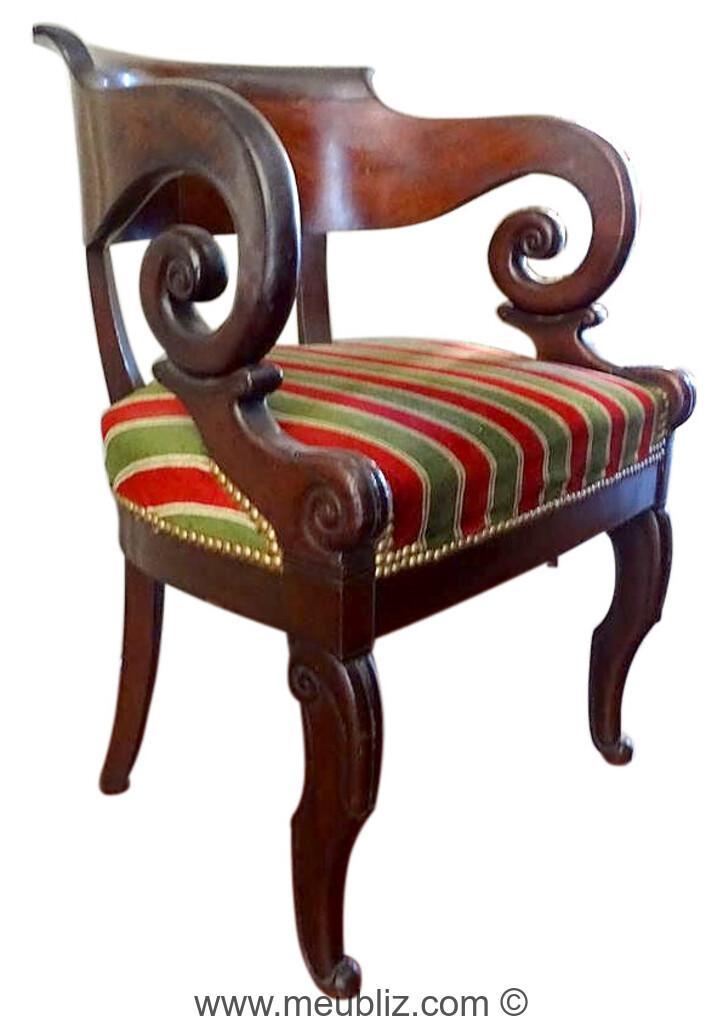 fauteuil de bureau restauration a