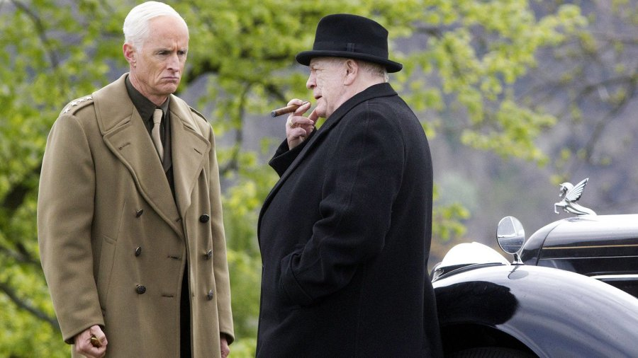 """Image from the movie """"Churchill"""""""