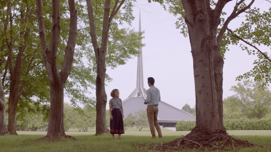 """Image from the movie """"Columbus"""""""