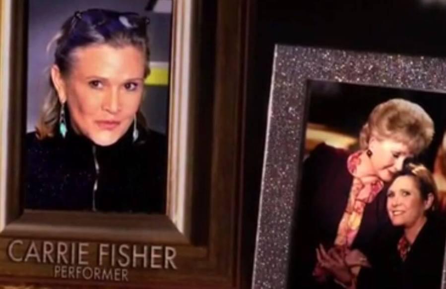 Carrie IN MEMORIAM EMMY 2017