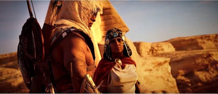 Assassin's Creed Origins: Mulheres egípcias