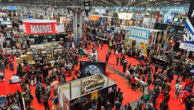 Comic Con New York 2017 ao vivo