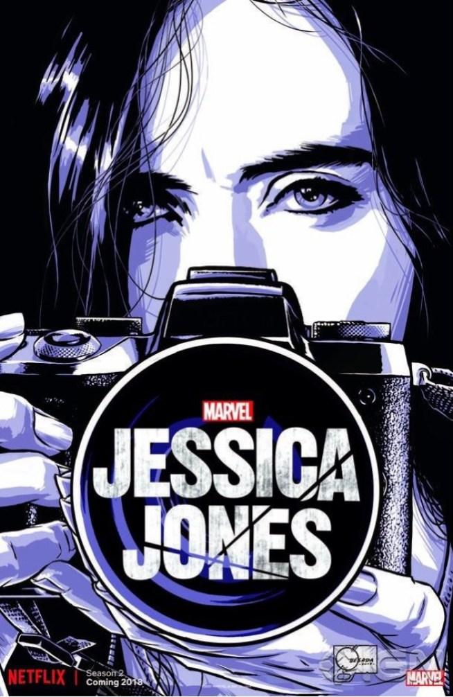 Jessica Jones: 2ª temporada chega em 2018