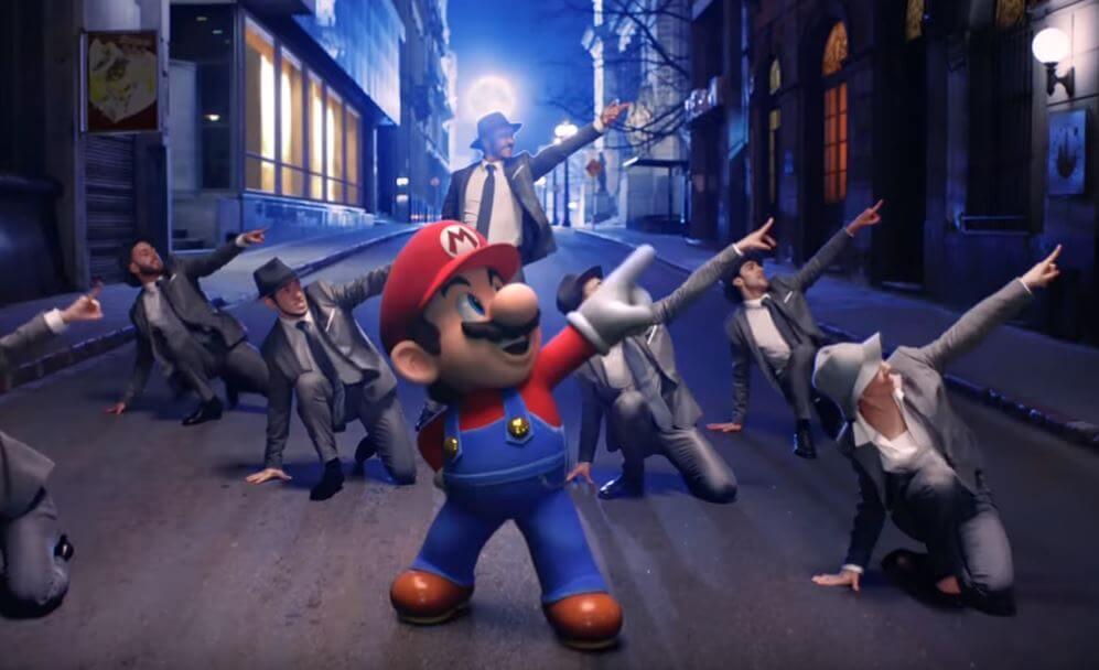 Vejam o vídeo musical de Super Mario Odyssey
