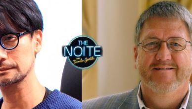 Hideo Kojima e David Crane estarão no The Noite hoje!