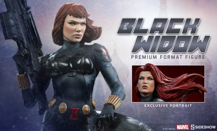 novo colecionável da Viúva Negra