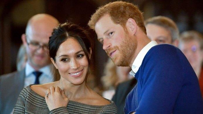 Meghan Makle e Príncipe Harry