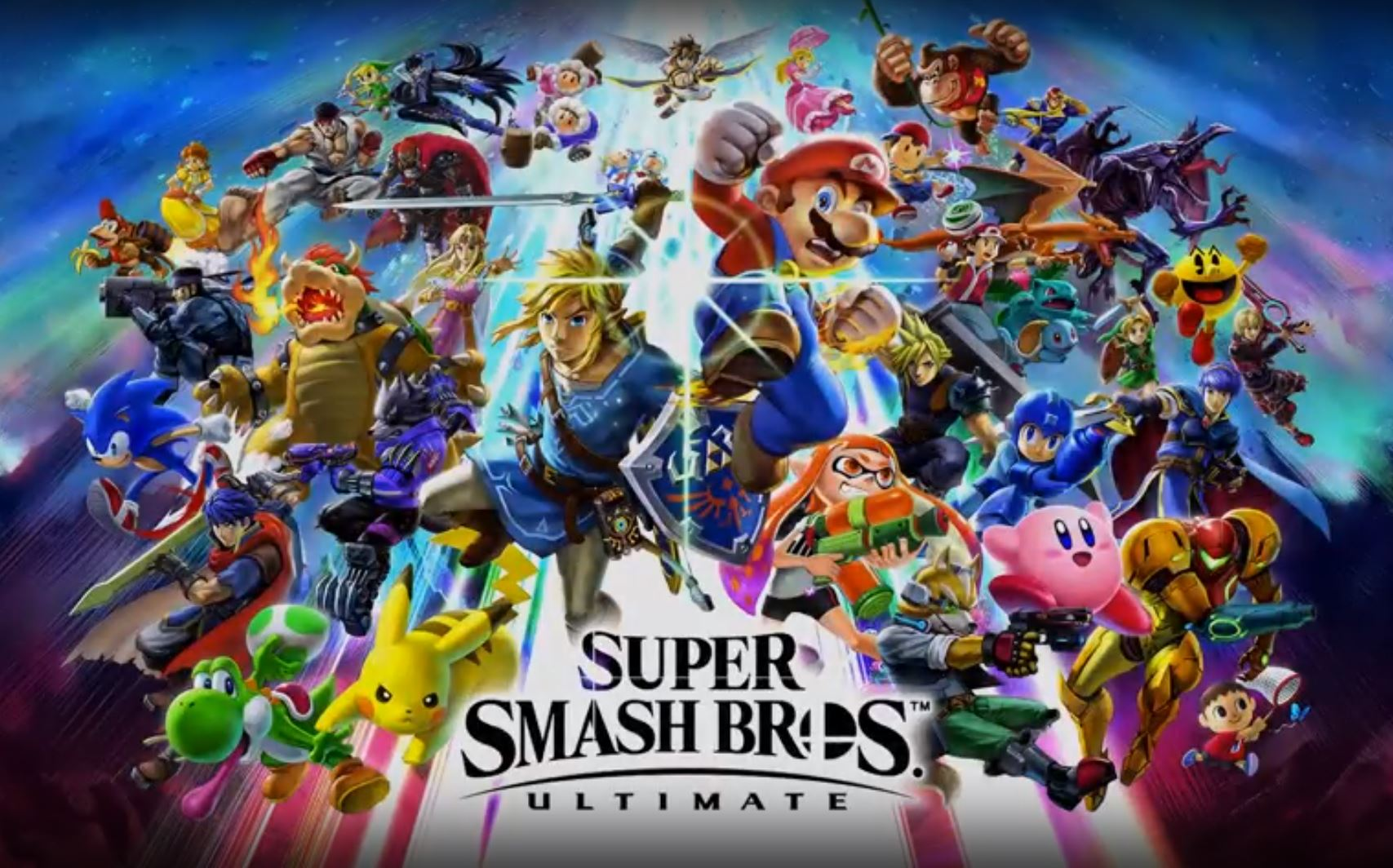 Super Smash Bros. Ultimate - todos os personagens