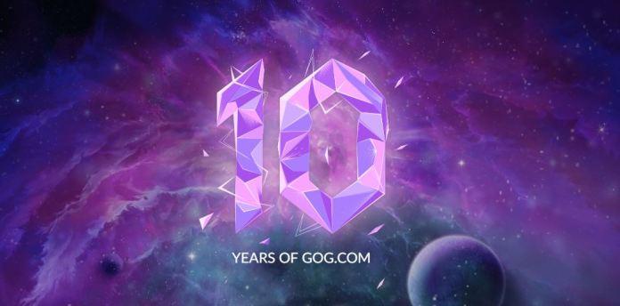 GOG comemora 10 anos com jogo gratuito, saiba como ganhar.