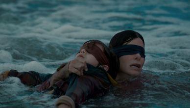 Netflix divulga novo trailer de 'Bird Box' de tirar o fôlego
