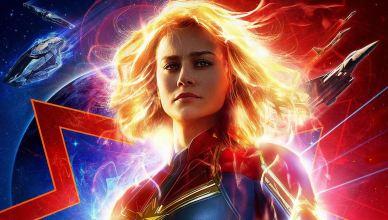 Capitã Marvel ganha belíssimo novo pôster oficial