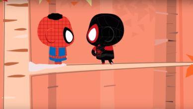 Turma da Mônica e Homem-Aranha no Aranhaverso no Crossover