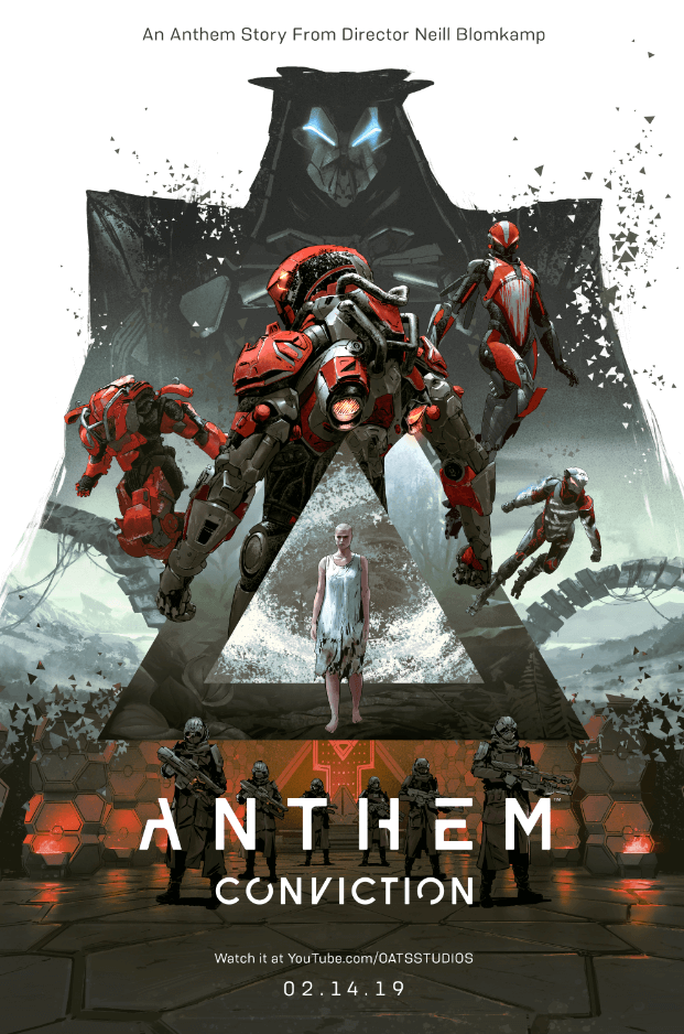 Pôster de Anthem: Conviction