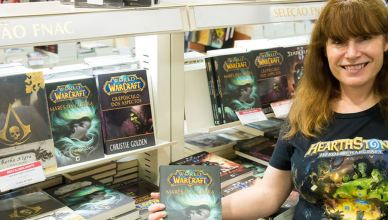 Blizzard confirma autora de livros de World of Warcraft, Christie Golden na CCXP