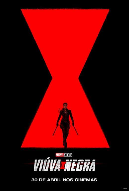 Pôster 'Viúva Negra' - Marvel