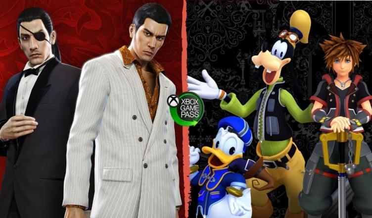 Xbox Game Pass: YXbox Game Pass: Yakuza 0 e Kingdom Hearts III chegam até o fim do mês