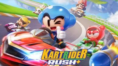 KartRider Rush+ chega para mobile com mais de 5 milhões de pré-registro