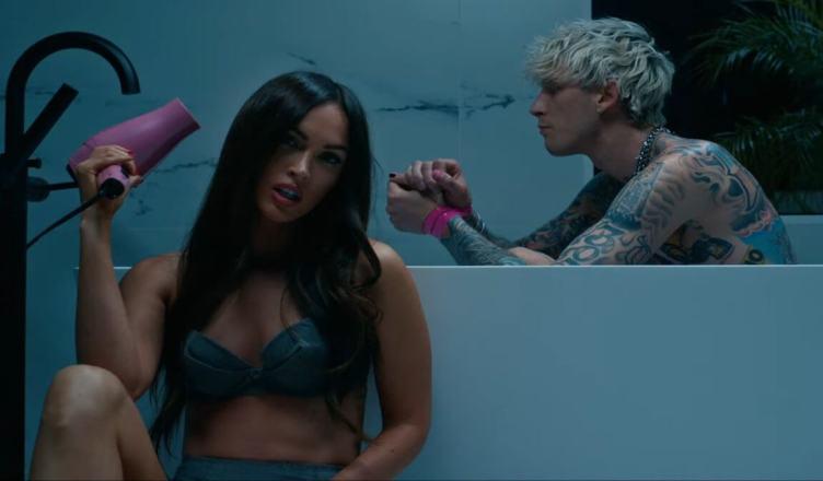 Megan Fox surge no novo videoclipe de Machine Gun Kelly