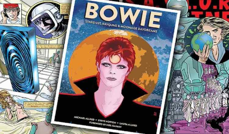 Cantor David Bowie ganha quadrinhos da editora Panini
