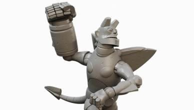 """""""Giant Robot Hellboy"""" Adicionado como novo personagem jogável para: The Board Game."""
