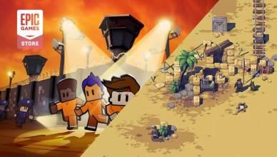 Epic Games Store: The Escapists 2 e Pathway são os jogos gratuitos da semana