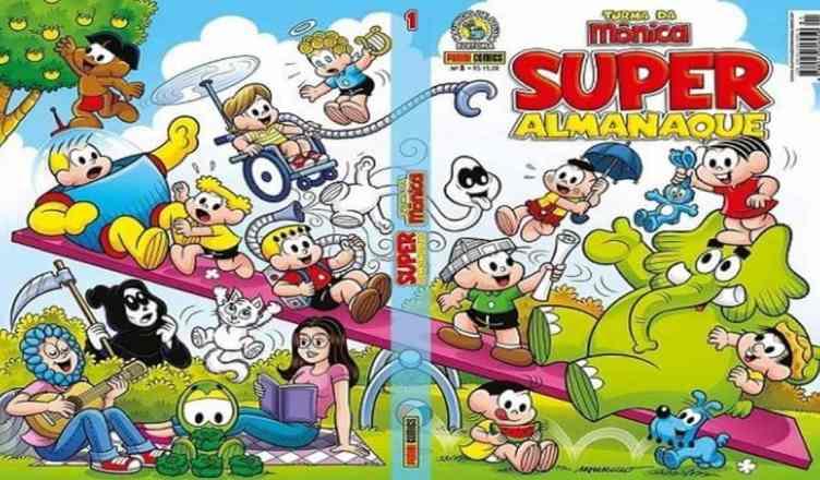 Super Almanaque Turma da Mônica oferecido de forma gratuita no whatsapp é golpe