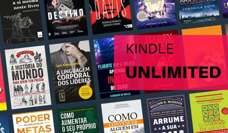 "Amazon Kindle Unlimited: As vantagens em assinar o ""spotify"" dos eBooks!"